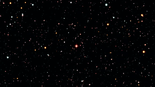 journey to vy canis majoris - galaxie stock-videos und b-roll-filmmaterial