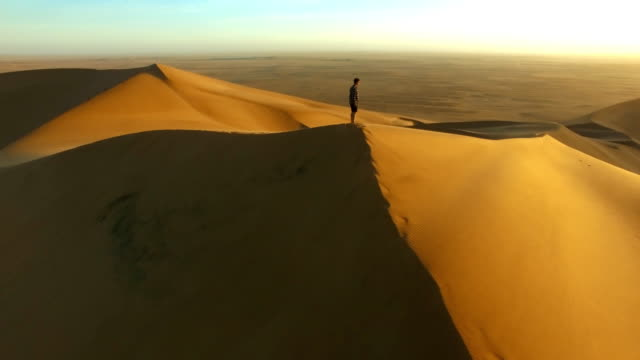 Journeying into the desert