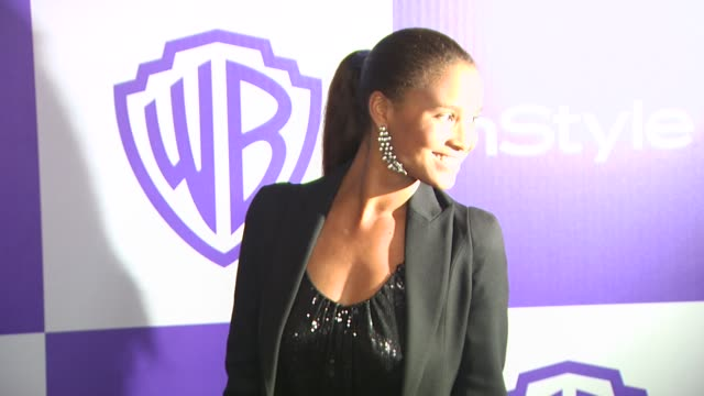 vídeos y material grabado en eventos de stock de joy bryant at the warner bros and instyle golden globe afterparty at beverly hills ca - warner bros
