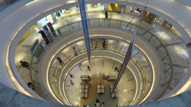 joy city invested by cofco is a landmark shopping mall focus on youth culture and middle class lifestyles cofco founded in 1949 started from the... - building storey stock videos and b-roll footage