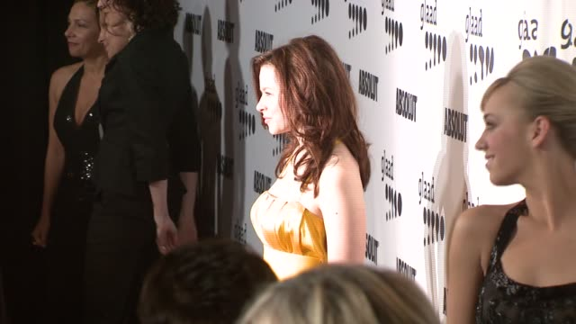 Joy Lauren and Andrea Bowen at the 18th Annual GLAAD Media Awards at the Kodak Theatre in Hollywood California on April 14 2007