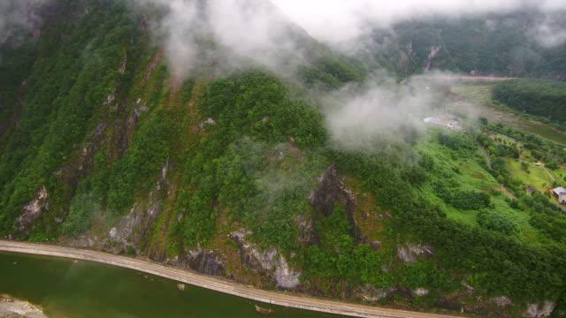 joyang river area of jeongseon county, gangwon province, south korea - 水の形態点の映像素材/bロール