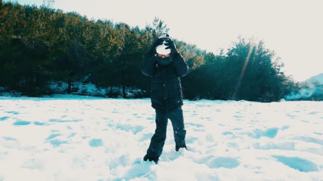 Joyful winter days
