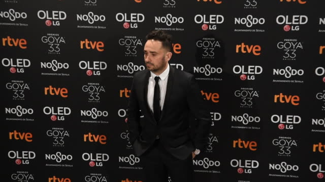 juan antonio bayona attends the candidates to goya cinema awards 2019 dinner party at the royal theatre on january 14 2019 in madrid spain - juan antonio bayona stock videos and b-roll footage