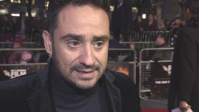 interview juan antonio bayona on the reaction of the film the importances of telling the truth lewis macdougall at lff 'a monster calls' gala... - lewis macdougall stock videos and b-roll footage
