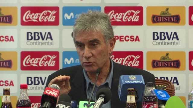 Juan Carlos Oblitas the sports director for the Peruvian Football Federation says that the important thing is for Ricardo Gareca who led the national...