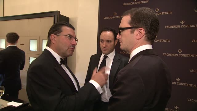 juan carlos torres gregg bello and darren aronofsky at the vacheron constantin celebrates grand opening of first ever us boutique at new york ny - darren aronofsky stock videos and b-roll footage