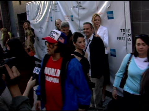 judah friedlander at the 2006 tribeca film festival 'full grown men' and 'freedom's fury' at amc loews 11th st cinemas in new york new york on april... - amc loews stock videos and b-roll footage