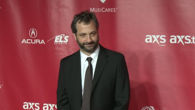 vídeos de stock, filmes e b-roll de judd apatow at musicares 2013 person of the year tribute 2/8/2013 in los angeles ca - judd apatow