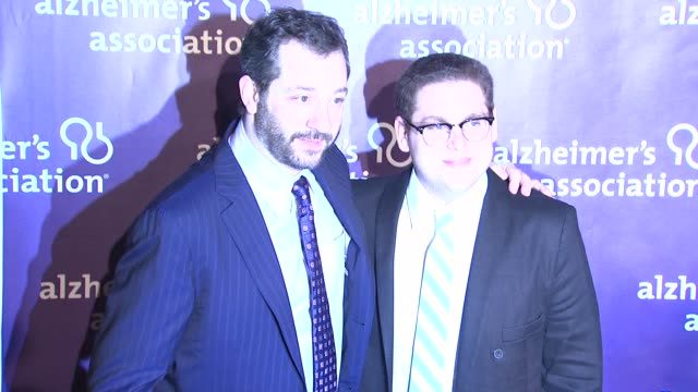 Judd Apatow Jonah Hill at the 19th Annual 'A Night At Sardi's' Benefitting The Alzheimer's Association at Beverly Hills CA