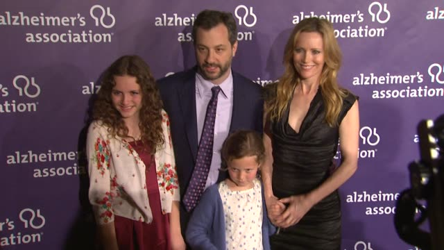 Judd Apatow Leslie Mann at the 19th Annual 'A Night At Sardi's' Benefitting The Alzheimer's Association at Beverly Hills CA