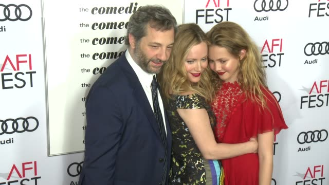 Judd Apatow Leslie Mann Iris Apatow at AFI FEST 2016 Presented By Audi Premiere Of Sony Pictures Classics' The Comedian in Los Angeles CA