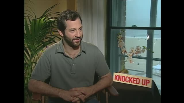 judd apatow talks about the effect the cancellation of 'freaks and geeks' had on his body - scriptwriter stock videos & royalty-free footage