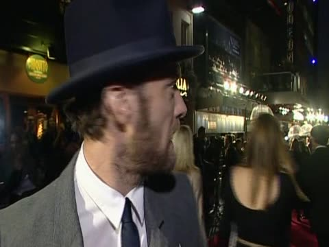 jude law helps launch the 55th london film festival in leicester square by attending the opening gala screening of his new film 360 - film screening stock videos & royalty-free footage