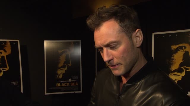 INTERVIEW Jude Law on why he wanted to be part of the film On what struck him about the film on the timely themes of the film On the idea of...