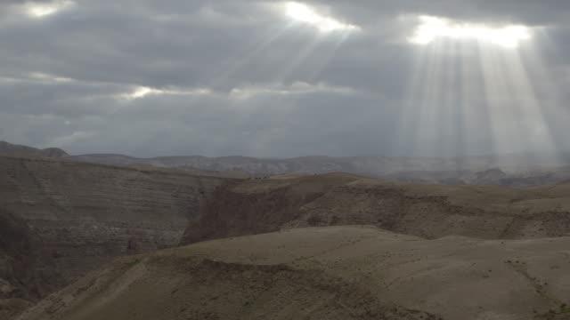 vídeos de stock, filmes e b-roll de judean desert tl - jerusalém