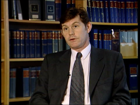 judge attacks burglar beaten up by householders itn london int michael grieve qc interview sot need a test for selfdefence - self defence stock videos & royalty-free footage