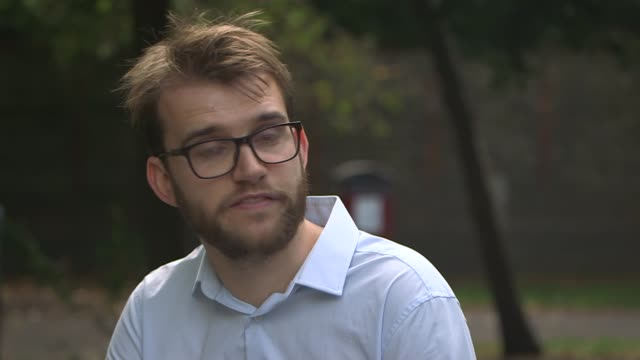 judge halts home office flight to deport asylum seekers england ext philip armitage set up shots with reporter / interview sot - channel 4 news stock videos & royalty-free footage