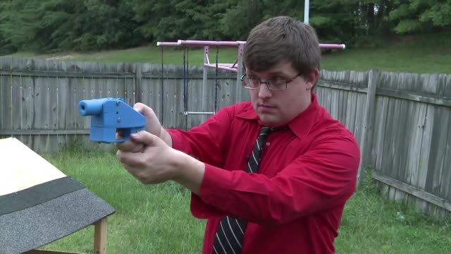 judge has temporarily blocked the online publication of blueprints for 3d printed firearms in a last ditch effort to stop a settlement president... - publication stock videos & royalty-free footage