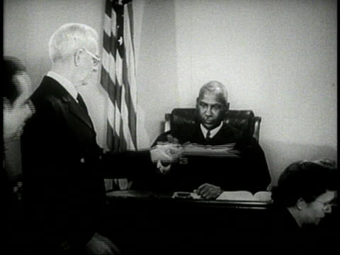 1944 montage judge in courtroom / u.s.a. - court stock videos and b-roll footage
