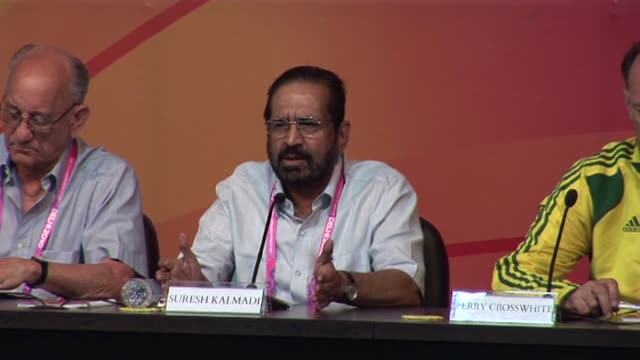 a judge orders prosecutors to charge india's former olympics chief and five other sports officials with fraud relating to the 2010 commonwealth games... - charging sports stock videos & royalty-free footage