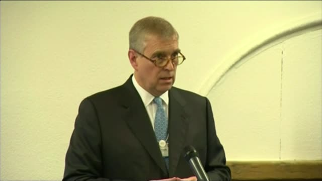Judge refuses to hear underage sex allegations against Prince Andrew LIB Prince Andrew the Duke of York speech SOT Wish to reitereate and reaffirm...