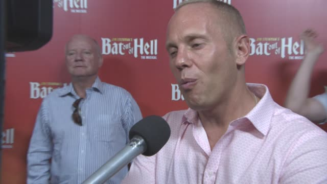 judge rinder at bat out of hell the musical opening night at london coliseum on june 20 2017 in london england - london coliseum stock videos and b-roll footage