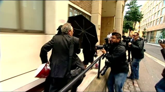 judge rules woman must remove muslim face veil when giving evidence england london blackfriars court photography** woman wearing full face veil along... - court room stock-videos und b-roll-filmmaterial