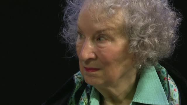 judges award the prestigious booker prize for fiction jointly to canadian author margaret atwood for the testaments and anglo nigerian author... - letteratura video stock e b–roll