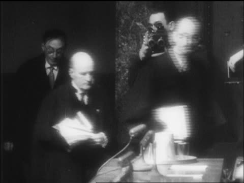 b/w 1946 judges entering courtroom for nazi war crimes trials / nuremberg / newsreel - 1946 stock videos and b-roll footage