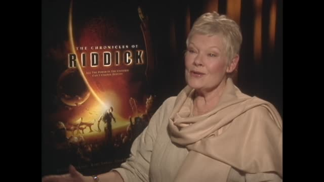 judi dench on her love of taking unexpected roles - ジュディ・デンチ点の映像素材/bロール