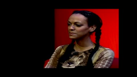 """judi shekoni from the twilight saga & eastenders, is on the guest panel of the men & motors show """"the g-spot"""". - eastenders stock videos & royalty-free footage"""