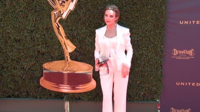 Judith Chapman at the 44th Annual Daytime Emmy Awards at Pasadena Civic Auditorium on April 30 2017 in Pasadena California