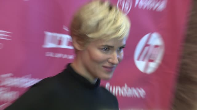 """judith godrèche at """"the overnight"""" world premiere - 2015 sundance film festival at eccles center theatre on january 23, 2015 in park city, utah. - park city stock videos & royalty-free footage"""
