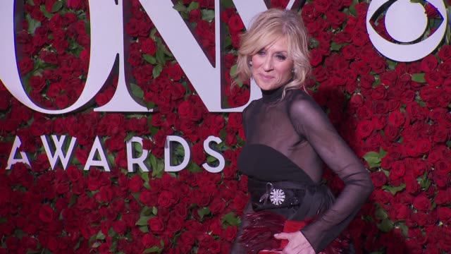 judith light at 2016 tony awards red carpet at the beacon theatre on june 12 2016 in new york city - 70th annual tony awards stock videos and b-roll footage