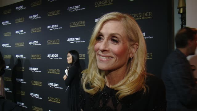 interview judith light on how it feels to share tonight with the fans the importance of this show in our political climate what fans can expect from... - season 4 stock videos and b-roll footage