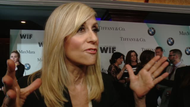 judith light on presenting to jill tonight at women in film 2015 crystal + lucy awards presented by max mara, bmw of north america and tiffany & co.... - century plaza stock videos & royalty-free footage