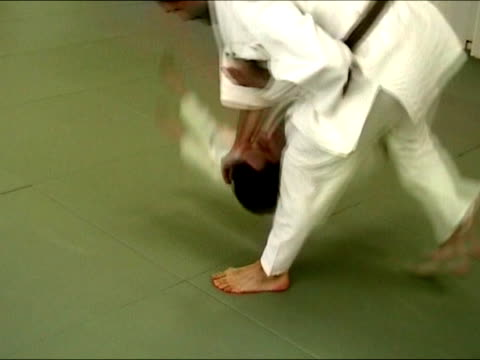judo combat - annoying colleague stock videos & royalty-free footage