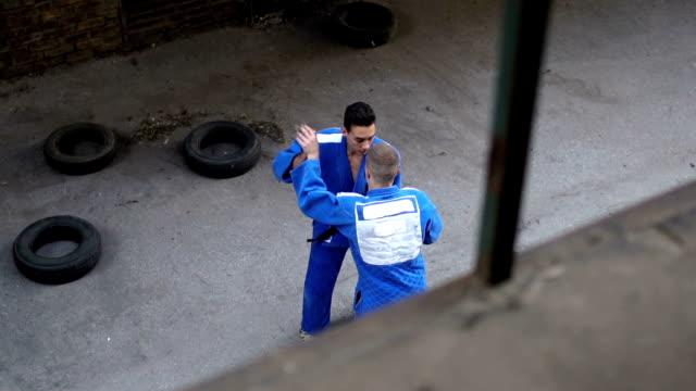 vidéos et rushes de espaces de formation de judo - karaté