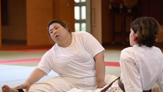 judo woman - body concern stock videos & royalty-free footage