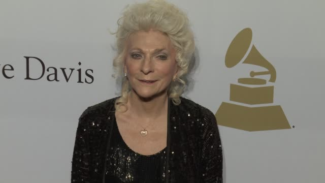 Judy Collins at the 2017 PreGrammy Gala Honoring Debra L Lee With Grammy Salute To Industry Icons Award at The Beverly Hilton Hotel on February 11...