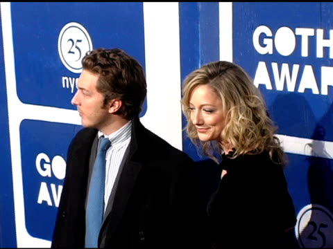 judy greer and guest at the ifp's 15th annual gotham awards arrivals at pier 60 at chelsea piers in new york new york on november 30 2005 - chelsea piers stock videos & royalty-free footage