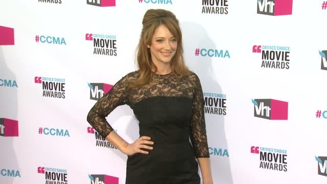 Judy Greer at 17th Annual Critics' Choice Movie Awards on 1/12/12 in Hollywood CA