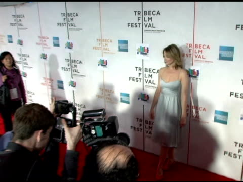 judy greer at the 2006 tribeca film festival 'the tv set' premiere at tribeca performing arts center in new york new york on april 28 2006 - performing arts center stock videos & royalty-free footage