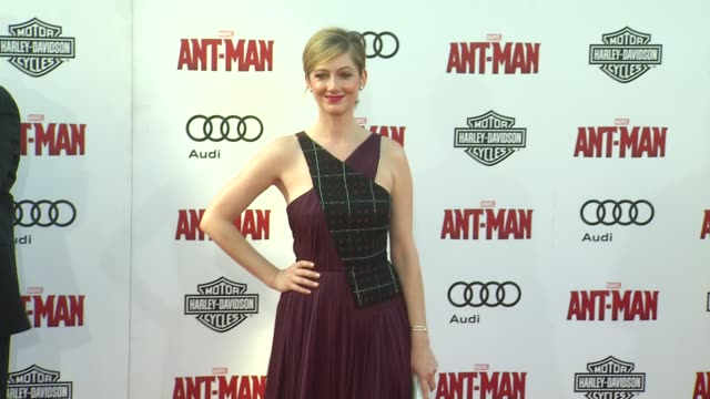 Judy Greer at The World Premiere of Marvel's AntMan at Dolby Theatre on June 29 2015 in Hollywood California