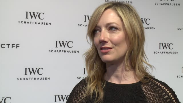 INTERVIEW Judy Greer talks about Jane Rosenthal supporting her early in her career at IWC Schaffhausen Fourth Annual For the Love of Cinema Gala...