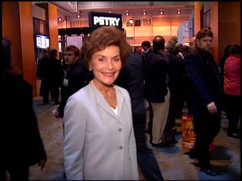 judy sheindlin at the natpe convention on january 20 1998 - natpe convention bildbanksvideor och videomaterial från bakom kulisserna