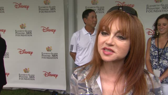 Judy Tenuta on how she feels to be at the 22nd Annual Time for Heroes Celebrity Picnic why she wanted to come and support and why the EGPAF is...