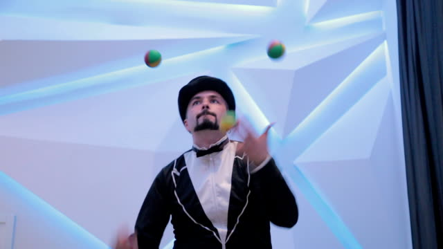 juggler - juggling stock videos & royalty-free footage