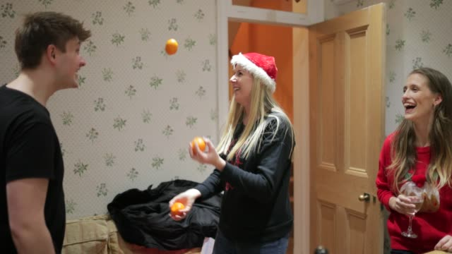 juggling at party - party social event stock videos & royalty-free footage